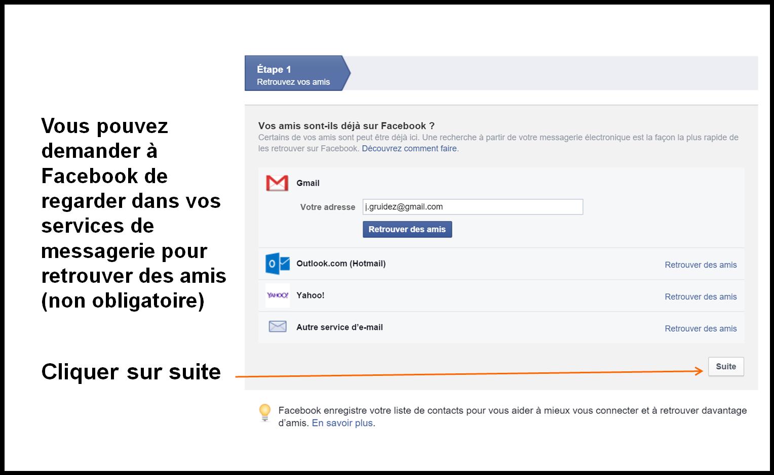 Créer Un Compte Facebook Pas à Pas Coursinfofr