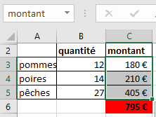 Excel exemple de référence absolue
