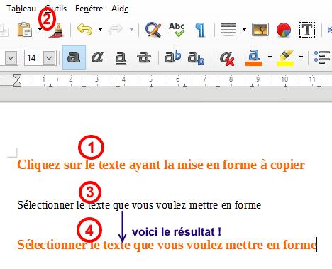 comment rédiger un document Writer