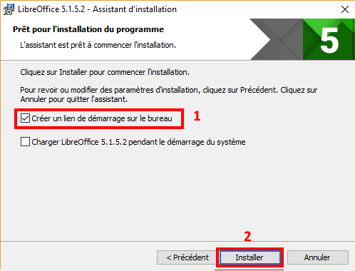 comment installer LibreOffice