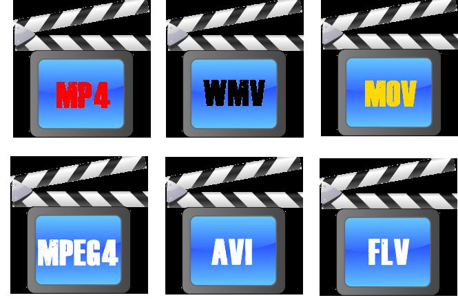 quels sont les formats vidéo les plus populaires ?