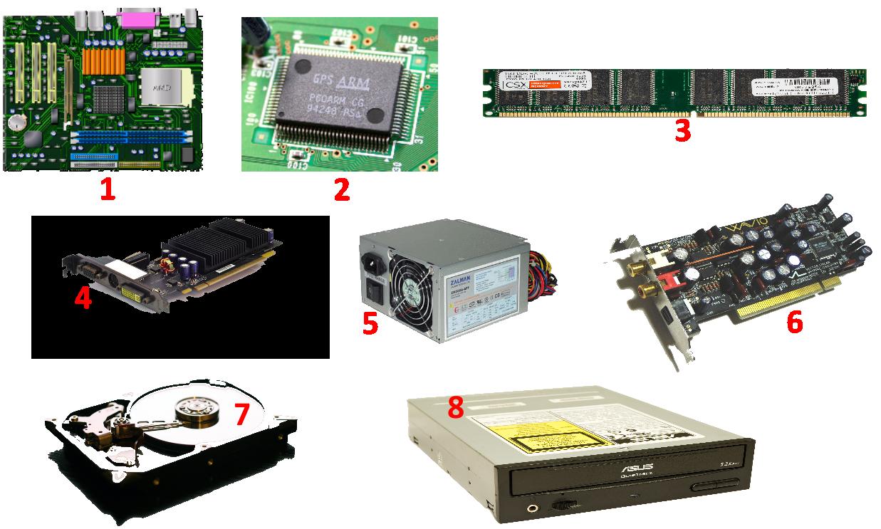 Quizz B2I niveau 1 sur les composants de l'ordinateur